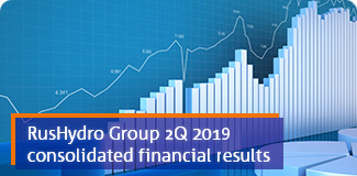 RusHydro Group 2Q 2019 consolidated financial results